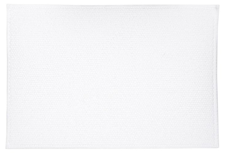 DoubleFace BathRug: Large, White