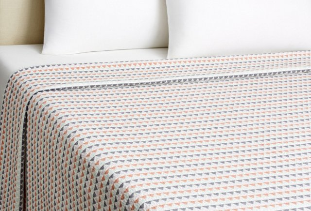 Bunting Coverlet, Warm