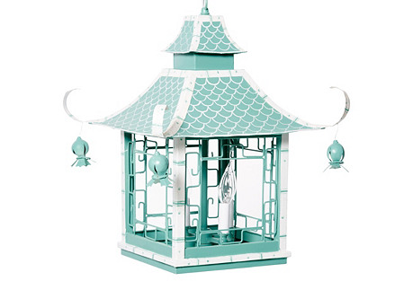 Fish Scale Pagoda Lantern, Mint