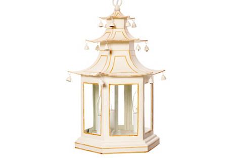 Pagoda Lantern, Ivory