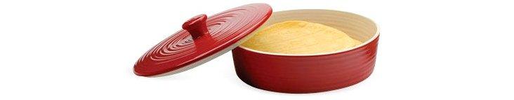 "10"" Tortilla Warmer, Red"