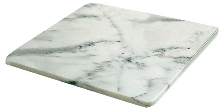 Marble Pastry Slab, White