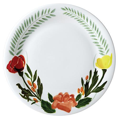 "10"" Language of Flowers Dinner Plate"