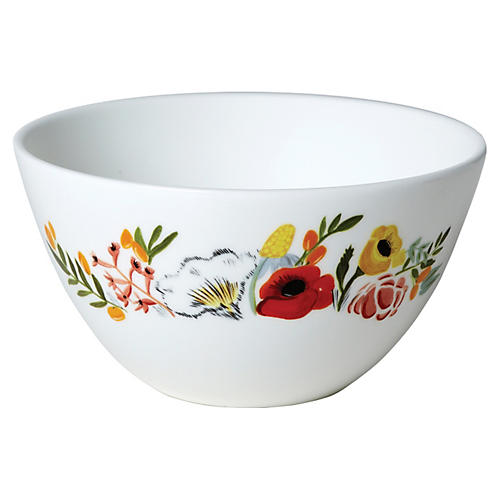 Language of Flowers Cereal Bowl