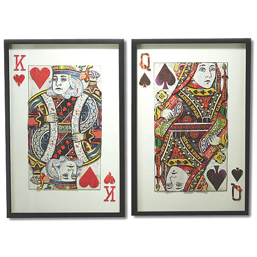Playing Cards Wall Art, Multi