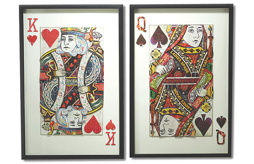Playing Cards Wall Art