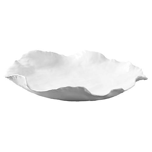 "18"" Moseley Bowl, White"