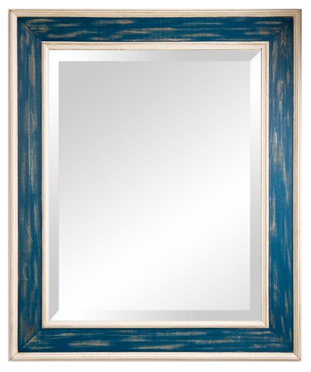 Loren Wall Mirror, Blue