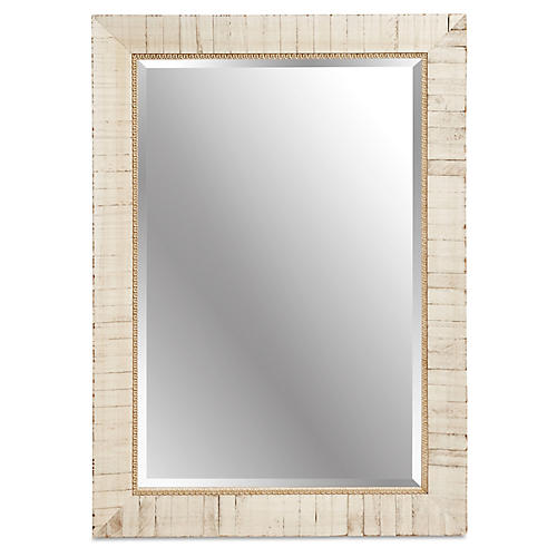 Esther Wall Mirror, Ecru