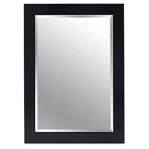 Pleasant Wall Mirror, Black