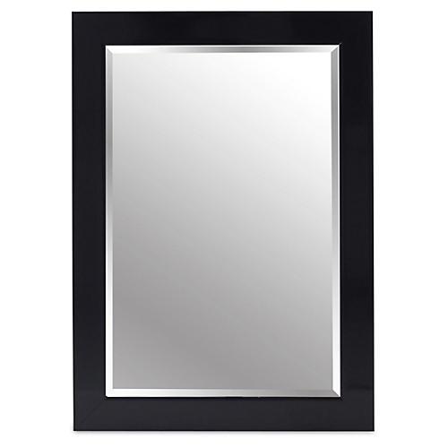 Pleasant Floor Mirror, Black