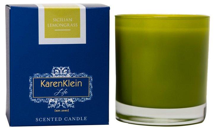10.5 oz Sicilian Candle, Lemongrass