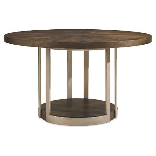 Amalia Dining Table, Russet