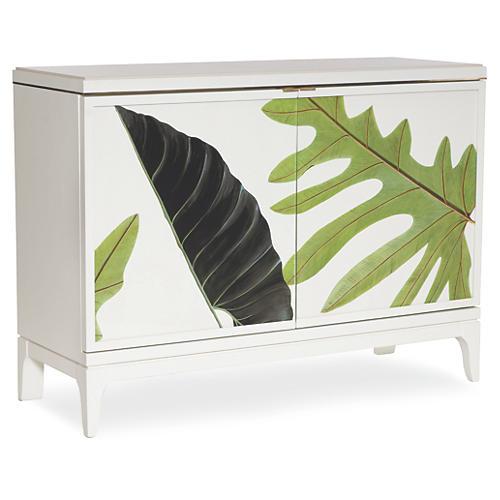 "Botanical 50"" Sideboard, Dove White"