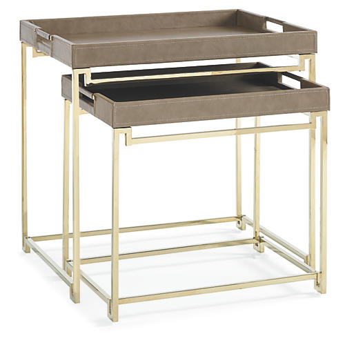 Asst. of 2 Celia Nesting Tray Tables