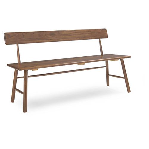 "Cleto 56"" Bench, Java"