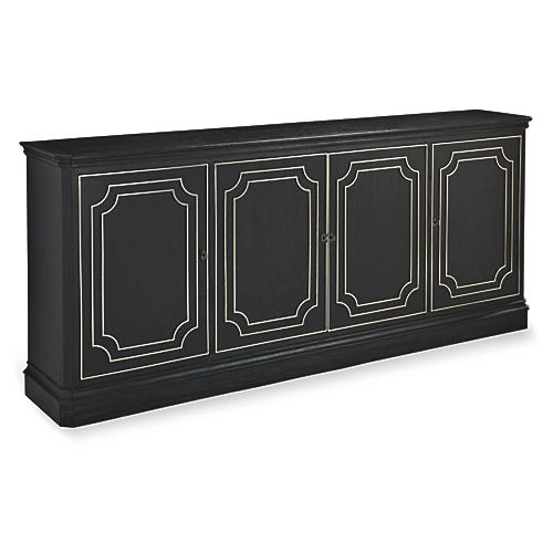 "Fredo 82"" Sideboard, Wax Black"
