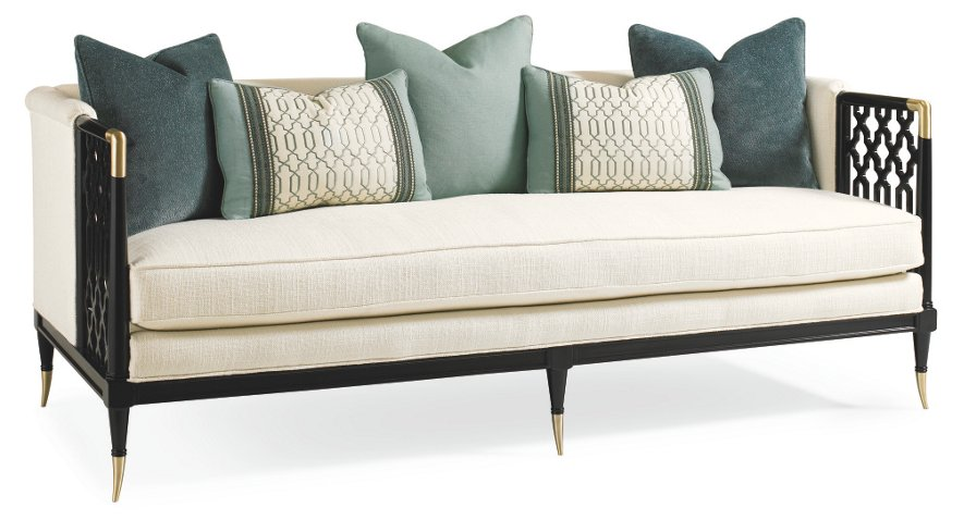 Lucio 78 Sofa Cream Sofas Settees Living Room Furniture One Kings Lane