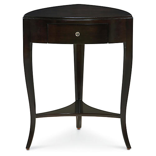 Leona Side Table, Black