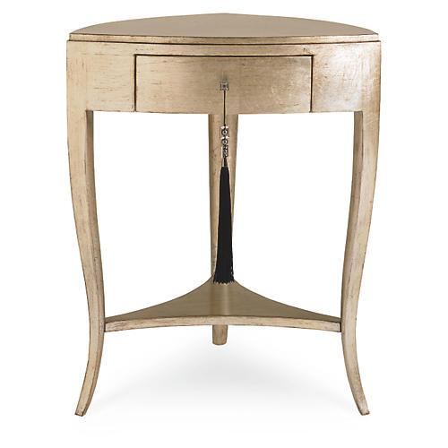 Leona Chic Side Table, Pompeii Gold