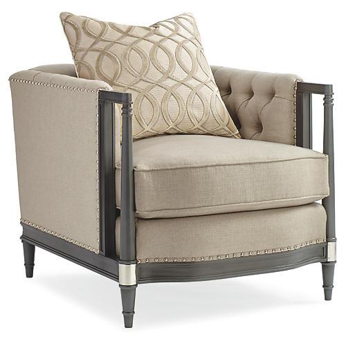 Ryder Club Chair, Neutral