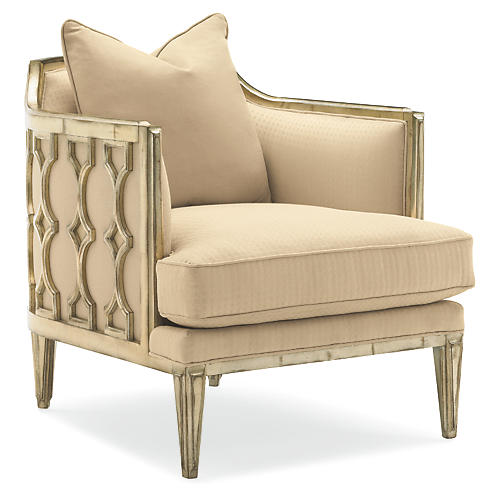 Hadlee Accent Chair, Neutral