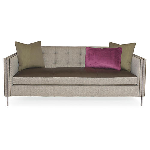 "Henly 81"" Sofa, Soft Gray"