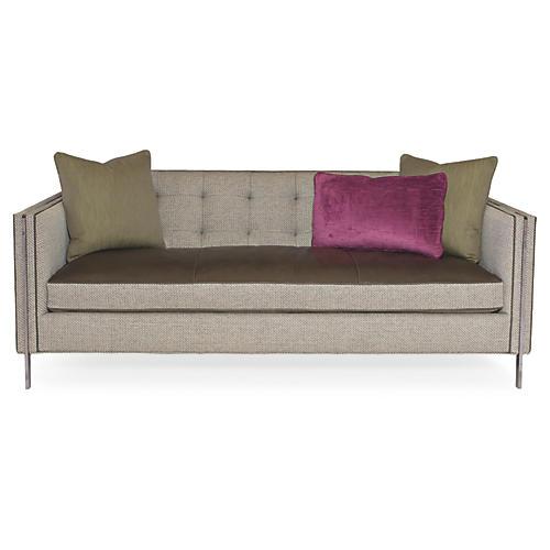 """Henly 81"""" Sofa, Soft Gray"""