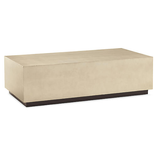 Couture Coffee Table, Taupe