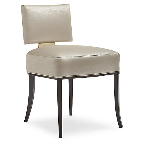 Reserved Side Chair, Cream