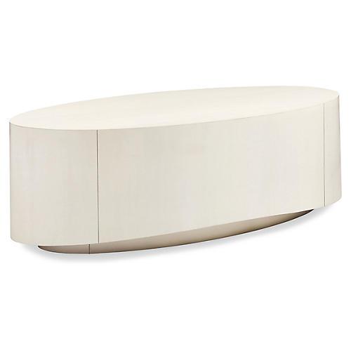 Cloud Coffee Table, Ivory