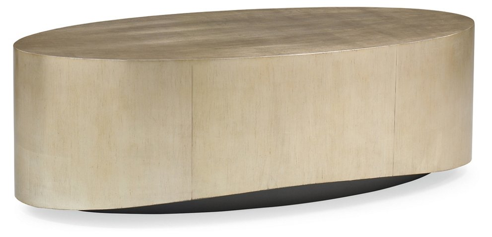 Whalton Coffee Table Silver Gold Leaf Tables Living Room Furniture One Kings Lane