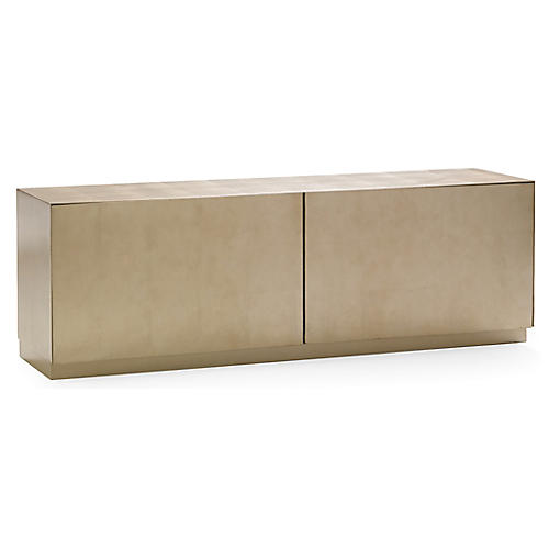 Stratford Media Console, Taupe