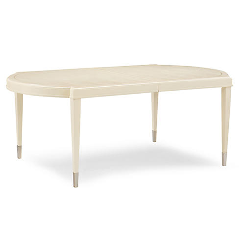 Bowden Dining Table, Ivory