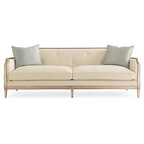 Garth Sofa, Cream