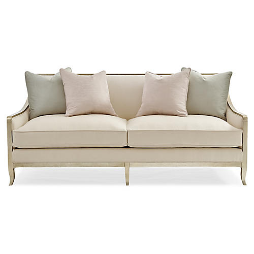 Butterfly Sofa, Ivory