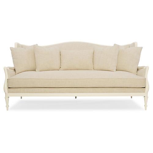 Southern Sofa, Ivory Linen