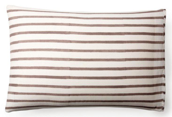 S/2 Standard Pillowcase Printed, Gray