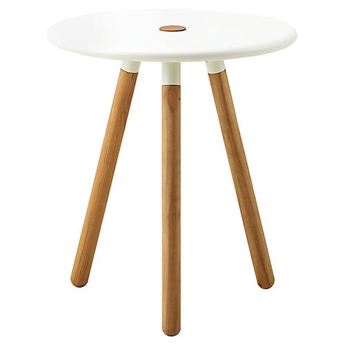 Area Stool, White