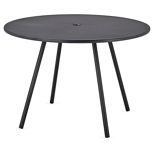 Area Dining Table, Lava Gray