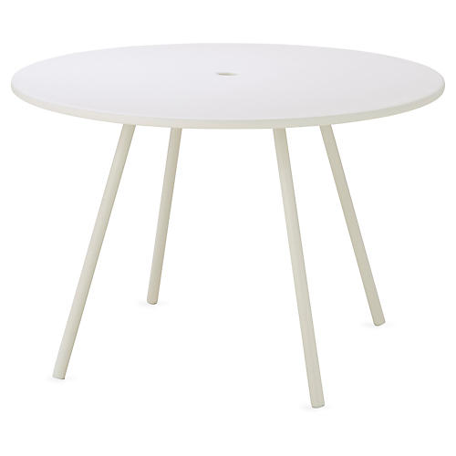 Area Dining Table, White