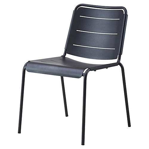 Copenhagen Side Chair, Lava Gray