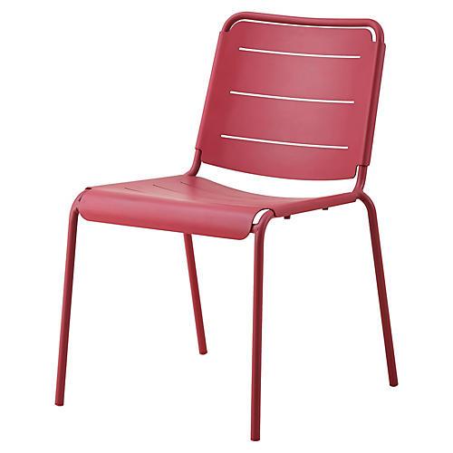 Copenhagen Side Chair, Marsala