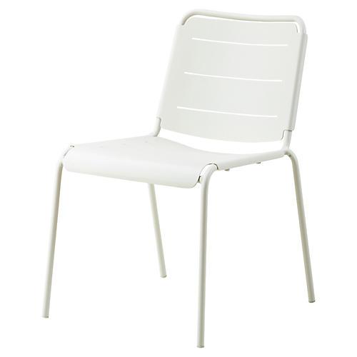 Copenhagen Side Chair, White