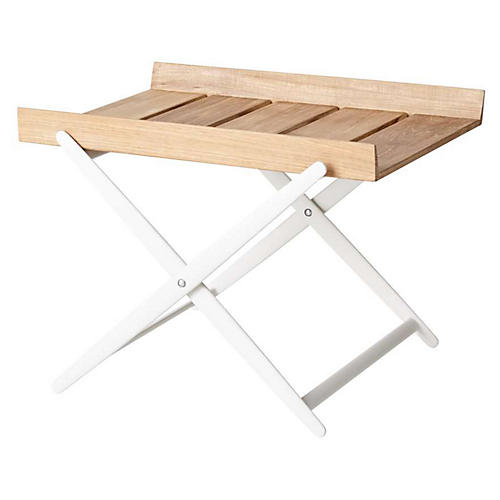 Rail Side Table, Natural