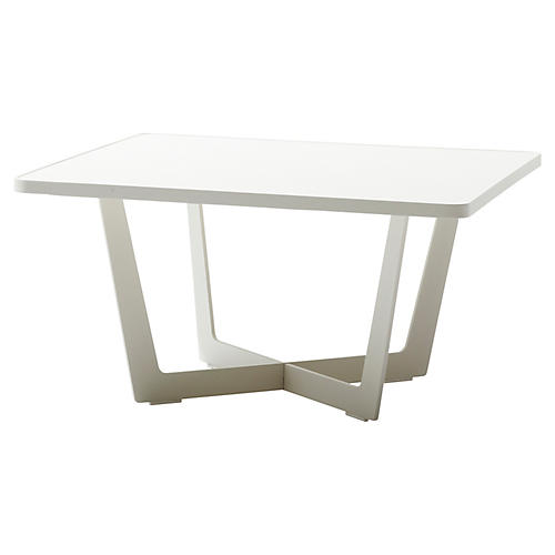 Time-Out Coffee Table, White