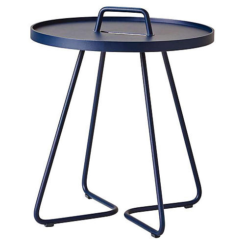 On-The-Move Side Table, Dark Blue