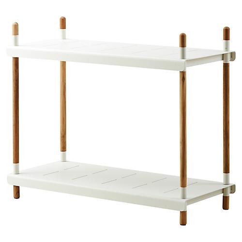 Frame Shelf, White