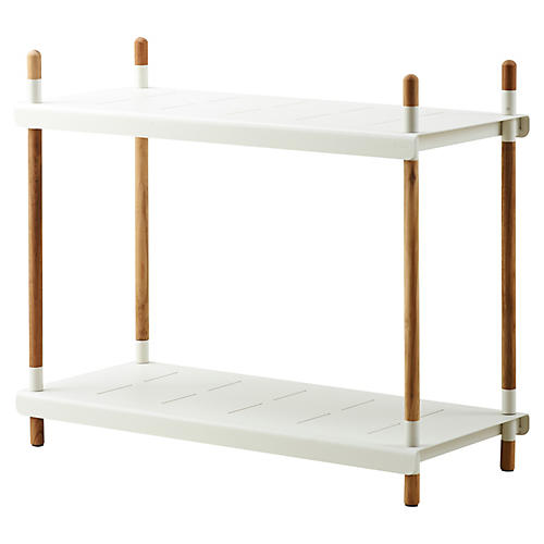 Frame Shelf, White