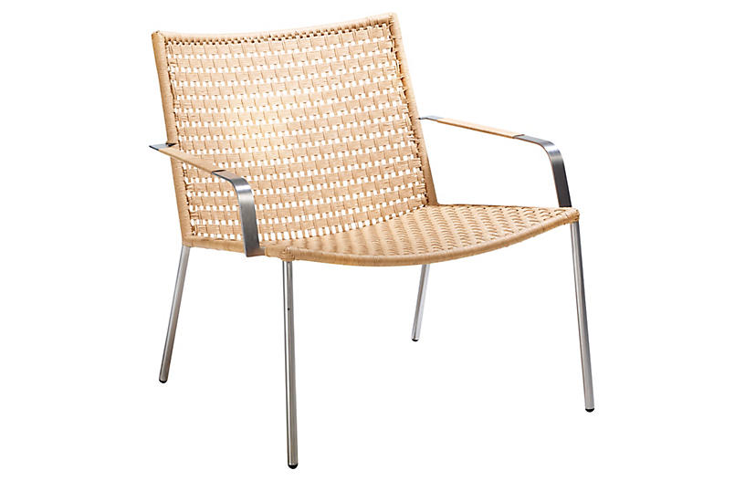 Straw Club Chair - Natural - Cane-line